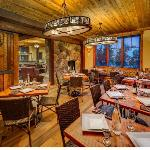 The Rustic Lounge at Cedar Glen Lodge