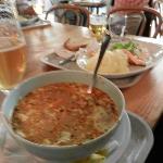 la succulenta zuppa di pesce