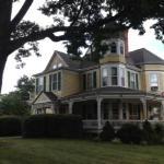 Oaks Victorian Inn porch