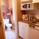 Kitchenette in our Junior Suite