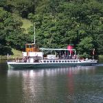 Steamer on the lake