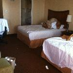 This is how our room was at check-in