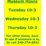 Stop by Tues thru Thurs 10-3 or make an appointment by calling 340.774.5541