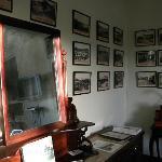 Nearly 100 antique photos facinate visitors.