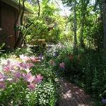 Pathway through the Courtyard Gardens