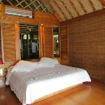 chambre bungalow overwater