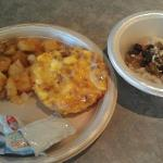 Breakfast! Even had an oatmeal bar