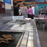 BBQ dinning area