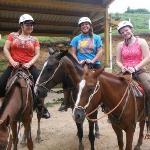 horseback riding time
