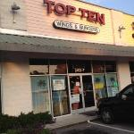 Top Ten Wings and Burgers