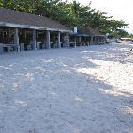 Beach 'cabins'