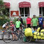 Départ pour la Loire à vélo