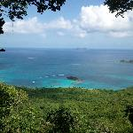 View from Cinnamon Bay Trail---Half-way point