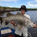 108cm Barramundi 2012 Clearwater Island Lodge