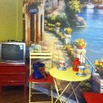 Mediterranean Cafe Mural