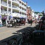 Mackinac Island - Shopping area