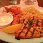 wild coho salmon grilled