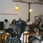 Participantes en un video forum