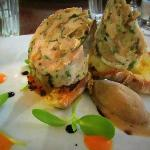 Free range chicken and wild mushroom roulade