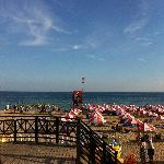 パラダイスホテル釜山からビーチはすぐそこ。