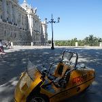 Palacio Real con el Gocar