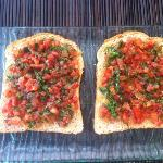 Home made Bruschetta