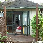 Our garden villa