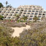 vue hotel de la plage
