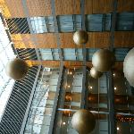 The Atrium and the large hanging decor