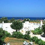 Vue de la terrasse sur la mer