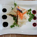 Veggie Wrap summer menu 2012