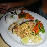 yummy crab stuffed red snapper