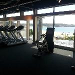 View from gym