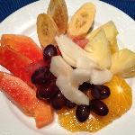 room service - fruit platter