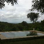 Magnificent views from the pool and verandah