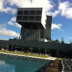 Vue de la piscine exterieure