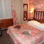 Le lit de la chambre 205