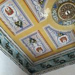 Original hand-painted ceiling