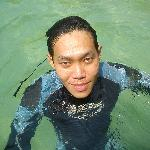 Pulau Sembilan - Having a swim after a dive.