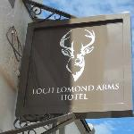 Welcome to the Loch Lomond Arms Hotel
