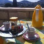 Café servi le matin
