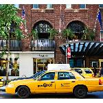 Opia's balconies on 57th Street