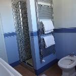 Salle de bain de l'appartement Cortona