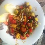salat mit Früchten?