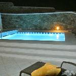 Private Pool at night