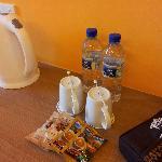 water & tea/coffee