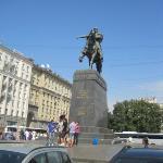 Yuri Dolgoruky Statue