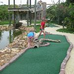 Mini Golf Course at Verandah