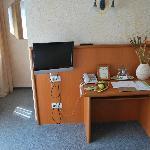 Großer Flat-TV