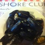 all you can eat mussels = 3 big bowls for me ;)